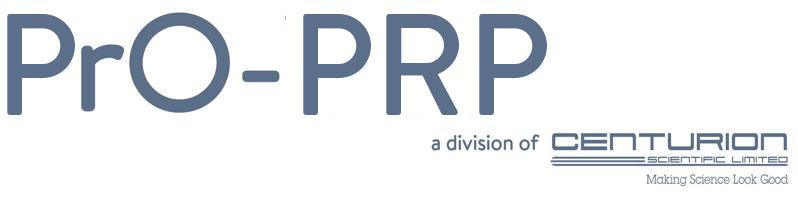 PrO PRP Centrifuges Logo